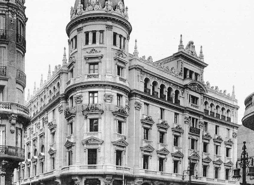 Exposición fotografías históricas de Gran Vía