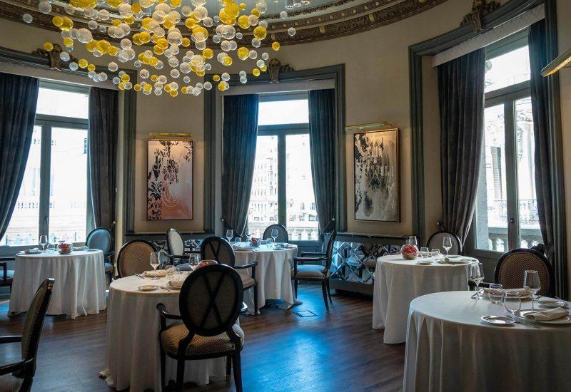 Salón Oval Restaurante Círculo Mercantil