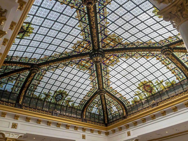 Vitral Maumejean de Casino Gran Vía de Madrid