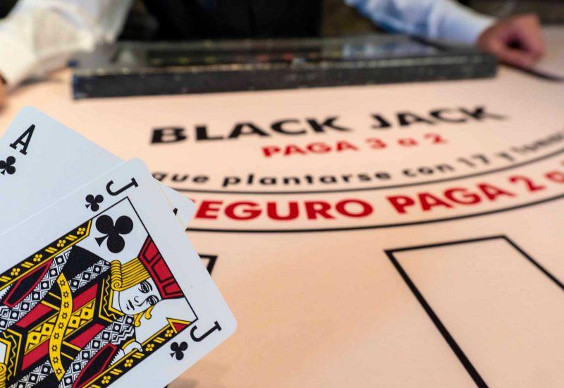 Black Jack en Casino Gran Vía