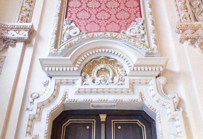 Detalle de Puerta del Salón Real