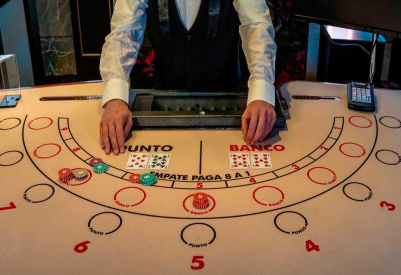 Punto y banca en Casino Gran Vía